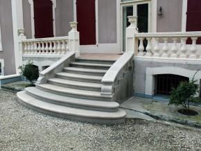 Escaliers massif en granit