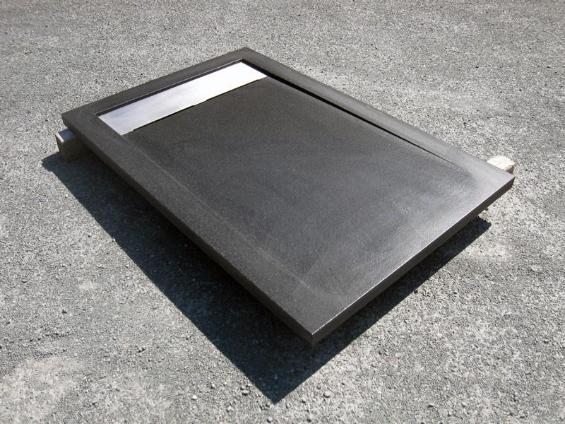 bac de douche sur mesure. Black Bedroom Furniture Sets. Home Design Ideas